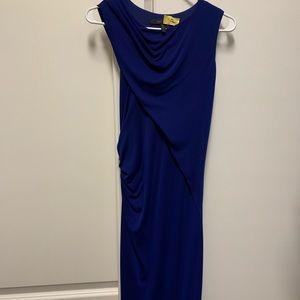 BCBG blue dress